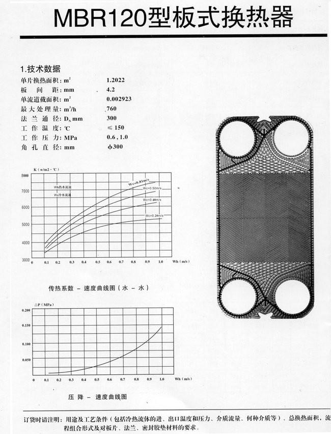 淄博MBR120型板式换热器